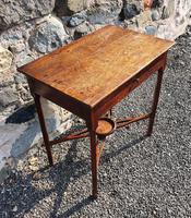 Pretty Little Georgian Oak Side Table (2 of 7)