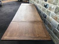 "Large Antique Oak 10ft 6"" Extending Dining (11 of 12)"