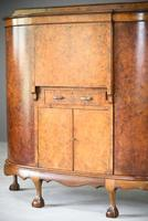 Early 20th Century Walnut Writing Cabinet (5 of 12)