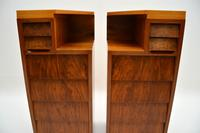 Pair of Vintage 1950's Walnut Bedside Chests (8 of 12)