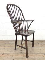 19th Century Elm & Ash Windsor Chair (5 of 11)