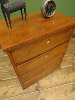 Small Vintage Haberdashery Chest of Drawers, Post Office Chest with Numbers (12 of 18)