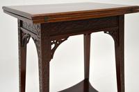 Antique Mahogany Tea / Card Table (10 of 12)