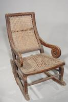 Early 20th Century Child's Canework Rocking Chair (2 of 3)