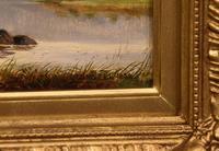 "Oil Painting by Albert Gyngell ""Rydal Water"" (3 of 5)"