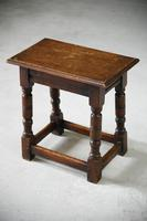 Charles II Style Oak Joint Stool (12 of 12)