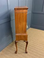 Burr Walnut Cupboard on Stand (10 of 15)