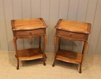 Pair of French Cherrywood Tables (7 of 11)