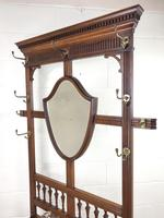 Antique Mahogany Hall Stand (4 of 10)