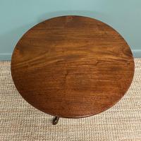 Georgian Mahogany Circular Antique Table (6 of 8)