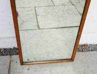 Large  Victorian Full Height Oak Framed Dressing Mirror (13 of 16)