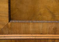 19th Century Mahogany Linen Press with Shelves & Drawers (5 of 6)