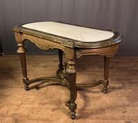 Napoleon III Giltwood Library or Sofa Table (6 of 13)