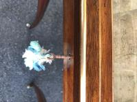 Antique Rosewood & Brass Bijouterie Display Table (10 of 10)