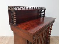 Victorian rosewood chiffonier (2 of 6)