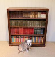 Oak Open Bookcase c.1920 (5 of 12)