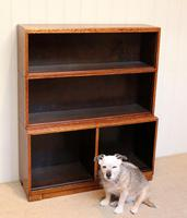 Minty Art Deco Open Bookcase (6 of 10)