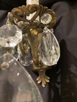 Pair of Small French Antique Wall Lights (6 of 7)