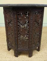 Anglo Indian Hand Carved Hardwood Table (5 of 6)