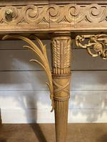 Wonderful French Walnut Console Table (22 of 36)