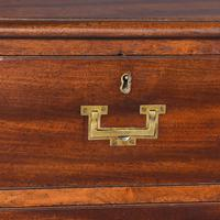 Antique George III Mahogany Military Chest (7 of 9)