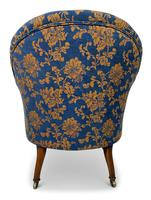Small Napoleon III Buttoned Tub Chair (4 of 6)