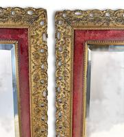 Pair of Carved Giltwood Mirrors (2 of 5)