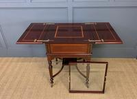 """Inlaid Mahogany """"Surprise"""" Drinks Table (6 of 15)"""