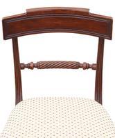 Set of 8 Georgian Mahogany Dining Chairs 19th Century c.1815 (6 of 9)
