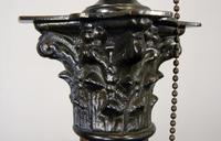 Good Large Vintage Corinthian Column Table Lamp c1930 (4 of 12)