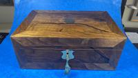 Victorian  Walnut Writing Slope with Secret Drawers (16 of 17)