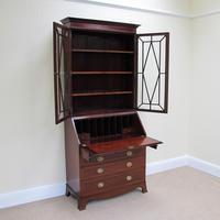 Mahogany Bureau Bookcase - Edwardian (2 of 6)