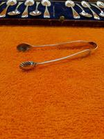 Antique James Dixon & Sons  Silver Plate  Shell Tea Spoon Set Cased C1890 Sheffield (7 of 10)