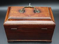 Attractive Chippendale Period Tea Caddy (3 of 6)