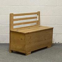 Old Pine Box Bench (2 of 4)