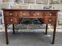 Antique Mahogany Writing Table (11 of 11)