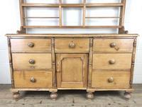 Victorian Antique Pine Dresser (6 of 18)