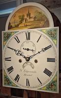 19th Cent Mahogany 8 Day Long Case Clock (3 of 5)
