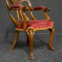 Set of Six Victorian Mahogany Chairs (12 of 13)