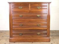 Antique Edwardian Satinwood Chest of Drawers (2 of 10)