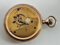 Large antique 1887 Waltham pocket watch. (4 of 4)