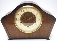 Smiths Arched Top Art Deco Mantel Clock – Musical Westminster Chiming 8-day Mantle Clock (2 of 9)