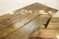 George III Oak Country Refectory Farmhouse Table (9 of 14)