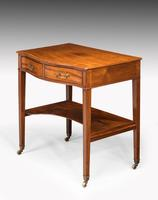 George III Period Mahogany Side Table of Very Small Proportions (5 of 5)