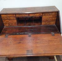 Fine & Rare 18th Century Burr Oak Bureau (3 of 7)