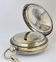 Vintage 1920s Swiss pocket watch & chain. (4 of 5)