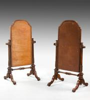 Pair of Mid 19th Century Children's Cheval Mirrors (5 of 5)