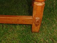 X Mouseman Beaverman Oak Drop Flap Coffee Table (8 of 12)