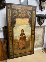 Huge 19th Century French Oil on Canvas Portrait (2 of 10)