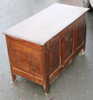 1850's Oak Coffer with Drawer at Base + Original Hinges (3 of 4)